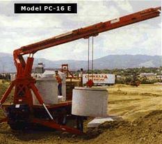 Model PC-16 Trolley Boom