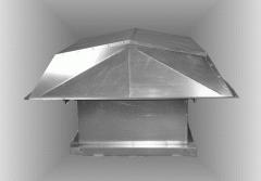 Type P Hooded Power Roof Ventilators