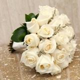 Twenty-Four Rose Hand Tied Bouquet
