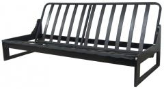 Alpha Contemporary Armless Futon Frame