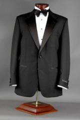 Super 80's Wool Tuxedo