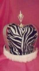 Zebra King Crown