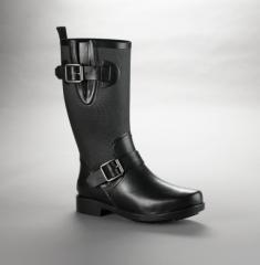Buckled Rain Boot