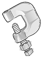 210 Malleable C-Clamp