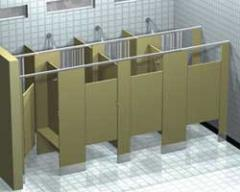 GLOBAL Shower Dividers and Dressing Booths