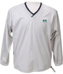 Raglan Long Sleeve V-neck Windshirt
