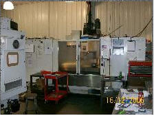 Products from the metal hull Fadal MachiningCenter