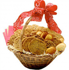 Home Made Cookies Basket