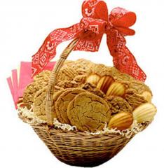 Home Made Cookies Basket