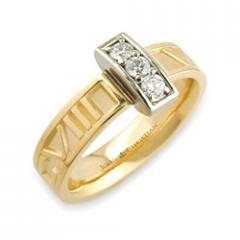 Diamond Numeros™ Bridge Ring