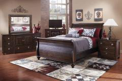 Tahoe Rustic Style California King Bedroom Group
