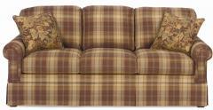 Upholstered Sofa with Skirt