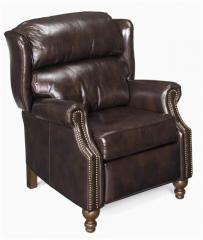 Recliner with Nail Head Trim