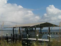 Boathouse Awning