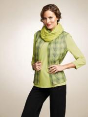 Women's kiwi scarf
