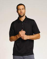 Men's Short Sleeve Mini Thermal Polo