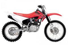 2013 Honda CRF230F Motorcycle