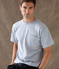 American Heavyweight Tee With Pocket