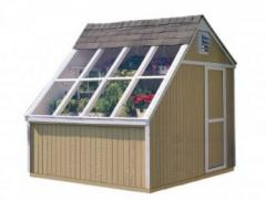 10×8 Phoenix Solar Shed – DIY Solutions
