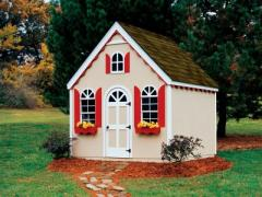 A Fun Outdoor Wood Playhouse Kit for Kids –