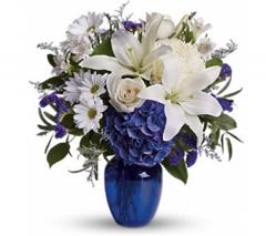 Beautiful in Blue Bouquet