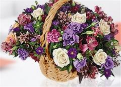 Beautiful Blooming Basket