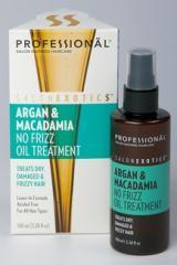 Argan & Macadamia No Frizz Oil Treatment