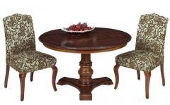 Mesa Reclaimed Wood Pedestal Table