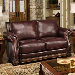 Cartwright Leather Loveseat