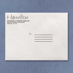 Large Name Business Mailers envelopes