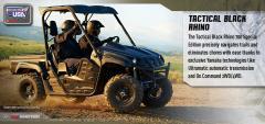 2013 Rhino 700 FI Auto. 4x4 Special Edition