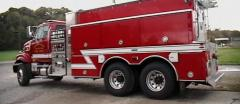 The Eagle Firefighting Truck