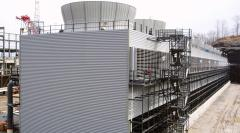 Hybrid Cell-Type Cooling Tower - Wet-Dry Hybrid