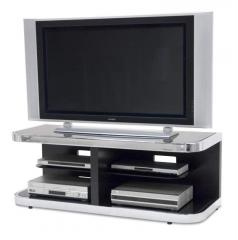 Contemporary Metal & Glass TV Unit