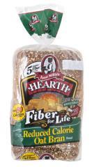 Reduced Calorie Oat Bran Bread