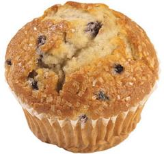 Wrapped Bursting Blueberry Down Home Muffin