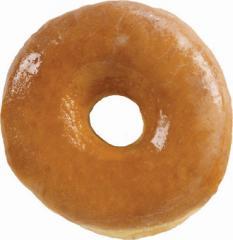Jumbo Glazed Yeast Donut