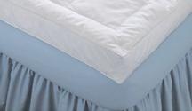 Luxury Baffled Box Feather Bed