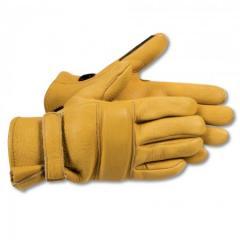 Competition Elkskin Roper Gloves