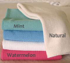 Crepe Weave Organic Cotton Blanket