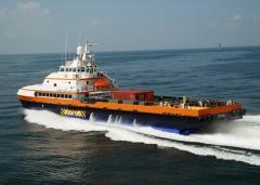 170' x 38' M/V Seacor Cougar Catamaran