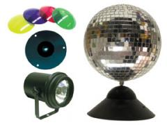 American DJ Mirror Ball Package: 8""