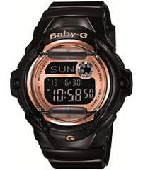 G-Shock BG169G-1 Baby-G Black & Rose Gold