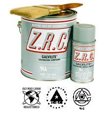 ZRC Galvilite Galvanizing Repair Compound