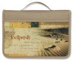 Footprints Canvas Lg Value