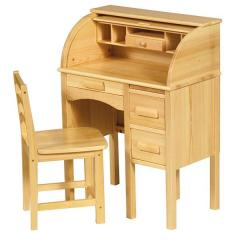 Junior Jr. Roll-Top Desk with Chair