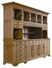 English Credenza with Hutch
