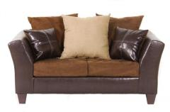Laramie Harden Contemporary Loveseat