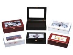 80111 Large Ebony Lacquer Box