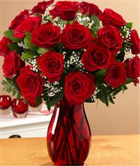 18 Long Stemmed Red Roses